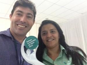 A LUCENA É A VENCEDORA DO PRÊMIO FORNECEDOR DE VALOR DA VALE S/A NO ANO DE 2012